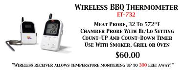 Wireless BBQ Thermometer ET-732