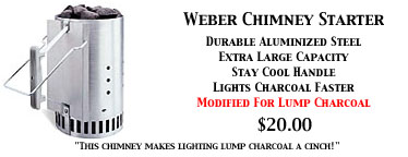 Weber Charcoal Chimney For Lump